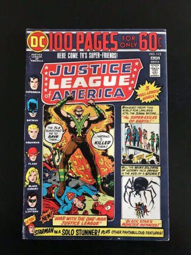 DC Justice League of America #112, 1974!