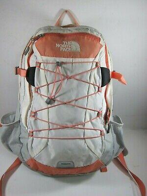 North Face Borealis Unisex Orange/White Nylon Backpack