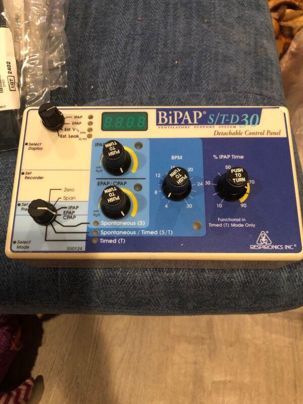 BiPAP S/T-D30 Ventilator Support System Detachable Control Panel 552033