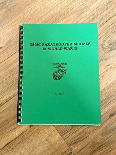 USMC Paratrooper Medals in World War II // Ken Haney // Spiral Bound Paperback