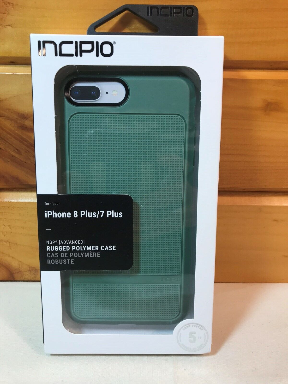 Incipio Rugged Polymer Cell Phone Case for iPhone 7 Plus and