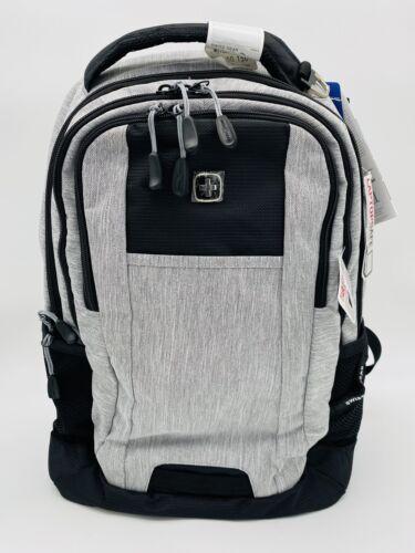 Swiss Gear 5505 Air Flow Black Gray Laptop Tablet Mesh Padded Shoulder Backpack