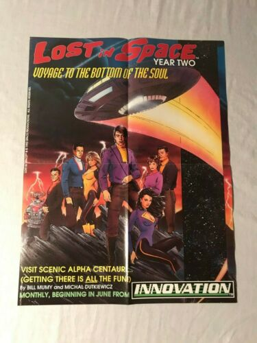 """1993 Lost in Space Centauri - Voyage to the Bottom of the Soul - Poster 22""""x17"""""""