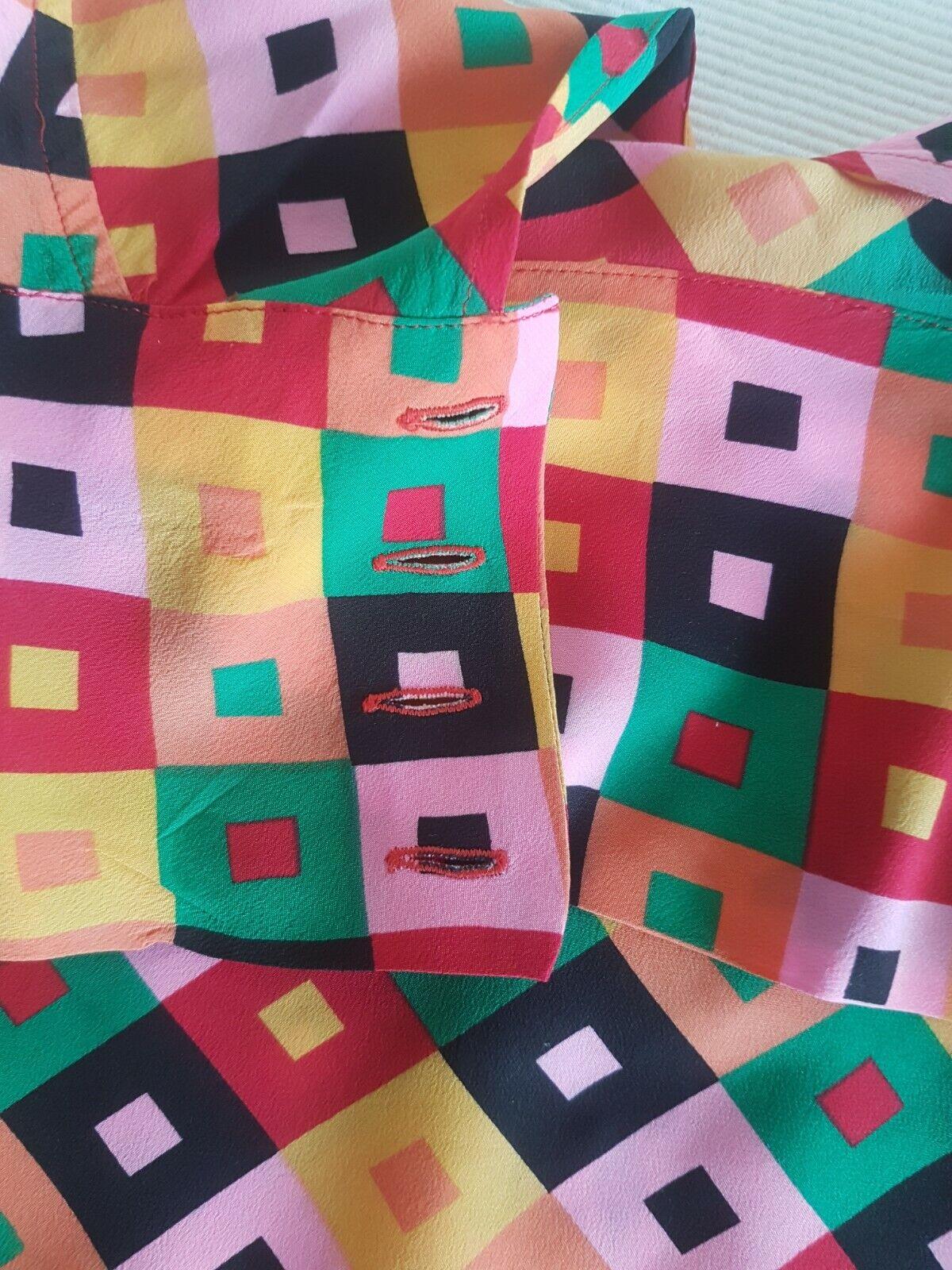 Magnifique chemise haut fleuries taille 38 guy laroche boutique paris