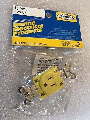 Hubbell 52cm61 15 Amp 125 Volt Outlet