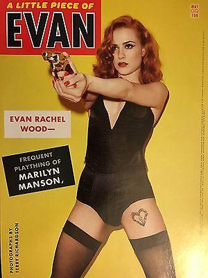 Evan Rachel Wood 4Pg Gq Magazine Feature  Clippings
