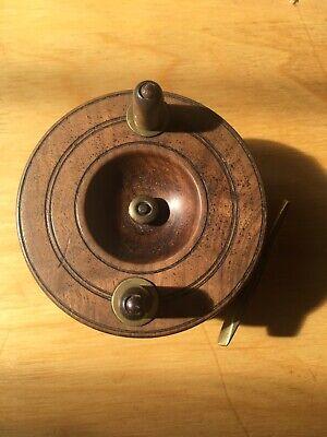 Vintage 4inch Wooden Fishing Reel