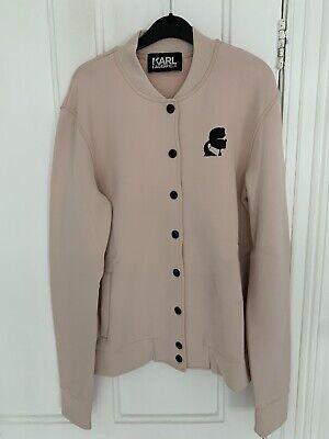 Karl Lagerfeld Pink Bomber Jacket