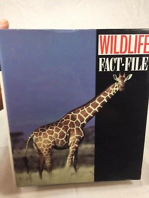 Wild Life Fact File Mammals Birds Amphibians Reptiles 156 Fact File Inserts