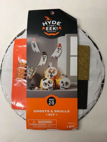 Halloween Foam craft kit for 20 party supply teacher ghosts and skulls