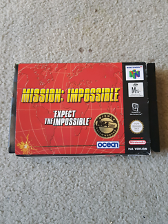 Mission impossible Nintendo 64 boxed game
