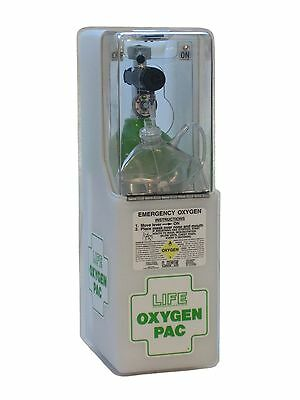 Life Emergency Oxygen Unit Wall Mounted Unit Oxygen Pack Life-612