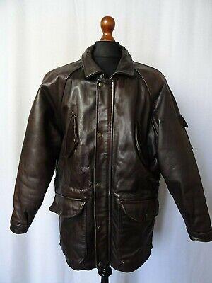 Men's Vintage Redskins Leather Jacket 44R (L)