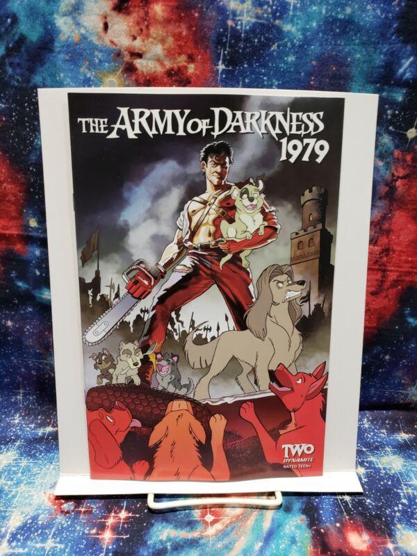 Dynamite Entertainment Army of Darkness 1979 #2 Tony Fleecs Stray Dogs Variant!