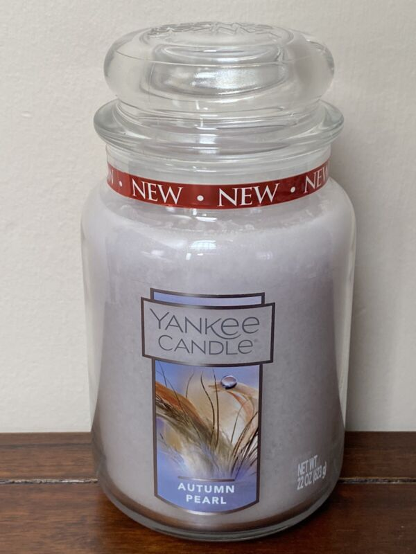 Yankee Candle Autumn Pearl Large Jar Candle 22oz