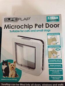 Pet Flap Microchip Large Dog Ebay