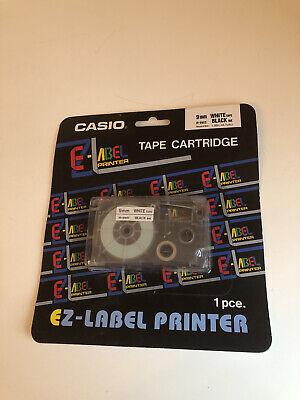 Ez Label Printer Tape Cartridge Casio - 9 Mm