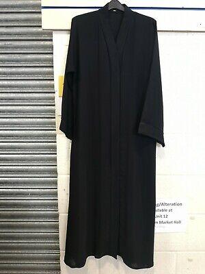 Dubai plain  Open Abaya,jilbab,kimono with Belt& Scarve.Soft Nidah fabric,