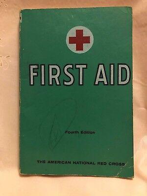 First Aid Textbook -  First Aid Textbook American Red Cross Fourth Edition 1957