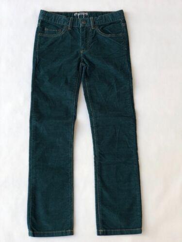 Boys Bonpoint Corduroy Green Pants - Size 8 Years