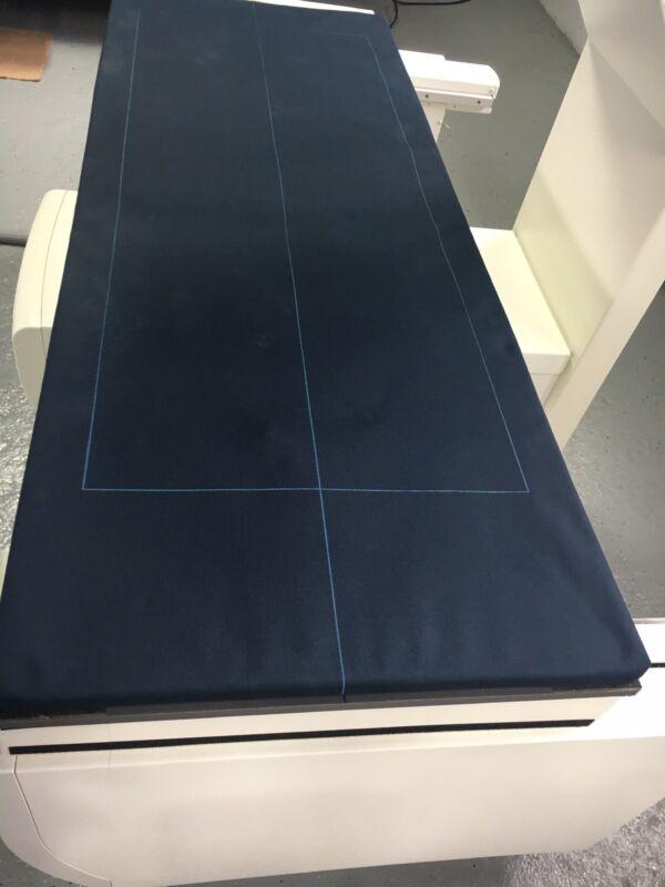 LUNAR GE HEALTHCARE DPX IQ BONE DENSITOMETER DARK BLUE TABLE PAD (CLOTH)