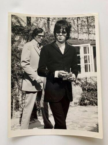 Keith Richards Original B/W 6 1/2 x  8 1/2 Photograph Mid -Late 60
