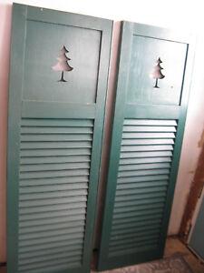 Exterior Wood Shutters | eBay