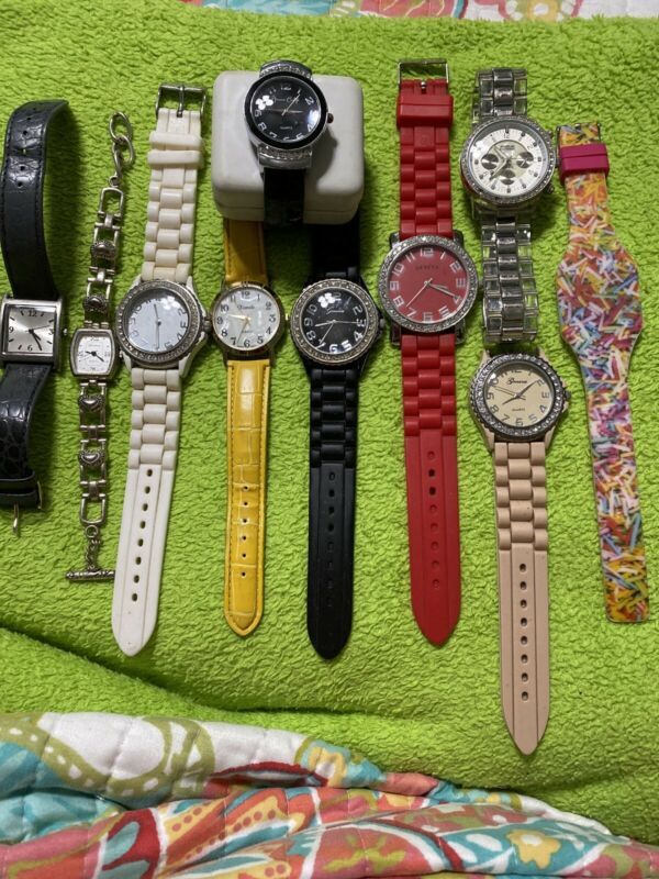 Womens Wrist Watches Lot 10