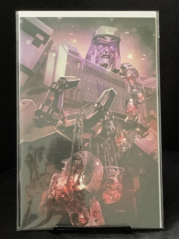 Transformers vs. Terminator #1 John Giang Exclusive Virgin Variant High Grade