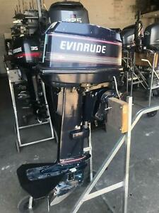 25hp Evinrude Outboard Southport Gold Coast City Preview