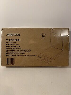 Accuteck S 50lbx0.2oz All-in-one Digital Shipping Postal Scale Wac Postage