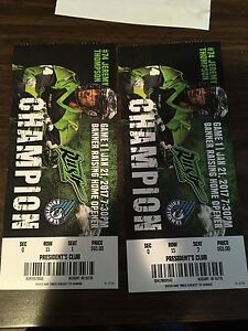 2 Rush tickets to Home Opener