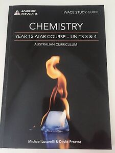 CHEMISTRY YEAR 12 WACE Study Guide - Michael Lucarelli & David Proctor Iluka Joondalup Area Preview