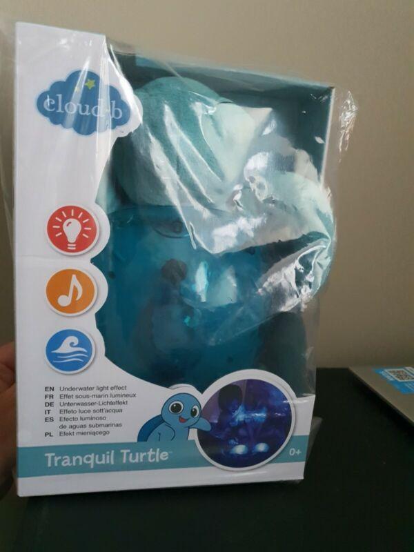 Cloud B Tranquil Turtle Night Lights - Aqua