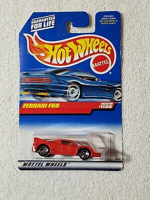 HOT WHEELS #1120 FERRARI F50