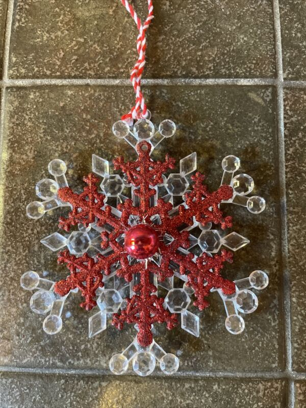 Vintage Style Layered Snowflake- Ornament-4818