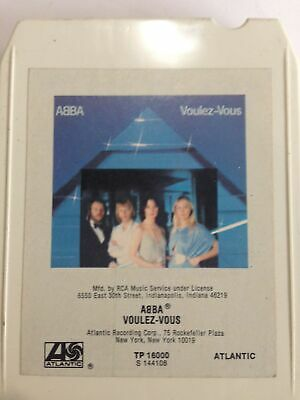 ABBA Voulez Vous S144108 8 Track Tape