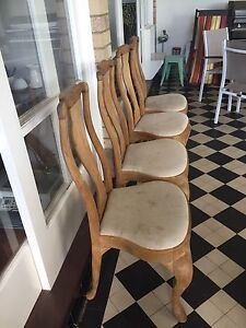 Dining room chairs Mosman Mosman Area Preview
