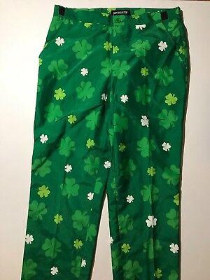 Suitmeister USA St. Patricks Themed  Pants Size M 38-40  ()
