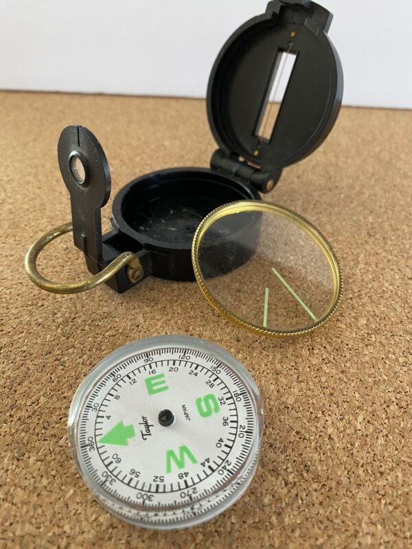 Vintage Taylor Lensatic Engineer
