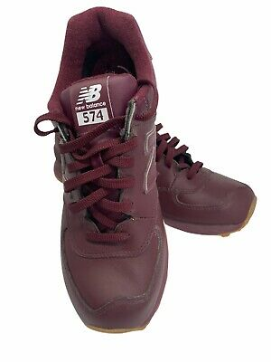 New Balance 574 Classics Burgundy Running Shoes NB574AAB Mens Size 10