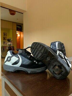 Heelys Unisex Roller Skate Shoes Style 9152 Gray Leather US Men's 7 / EU 39