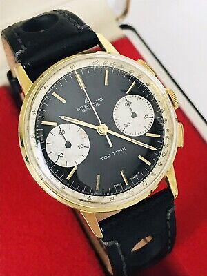 Breitling Top Time Manual Wind Mens Watch (Ref: 2003) Vintage