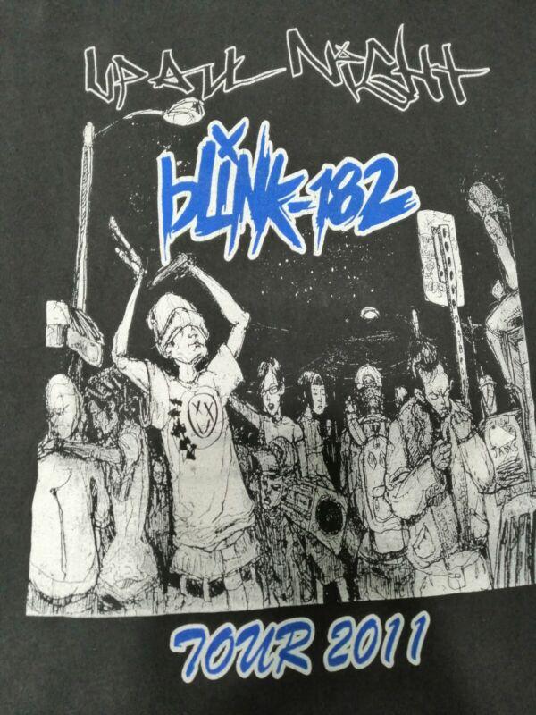 Blink 182 My chemical romance honda civic tour 2011 medium unisex shirt new