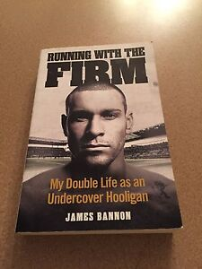 RUNNING WITH THE FIRM by James Bannon