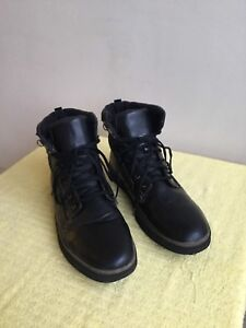 waterproof/leather, WINTER BOOTS, size:13