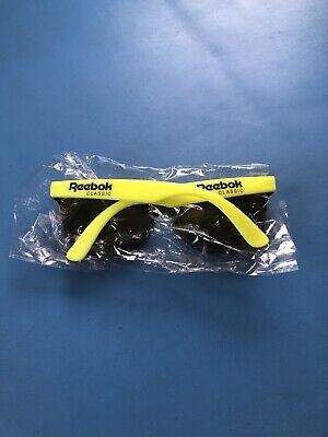 Vintage Reebok Classic Neon Yellow Sunglasses New (Sunglass Reebok)