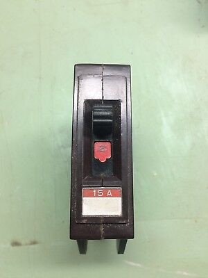 15A Wadsworth 15 Amp Single Pole Circuit Breaker, used for sale  Orchard Park