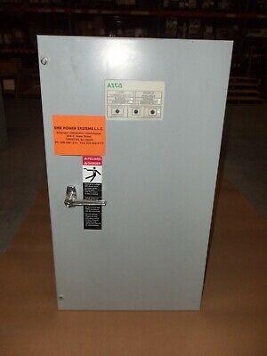 Asco 70 Amp Ats Automatic Transfer Switch 480v 3 Phase 300 Series Ak