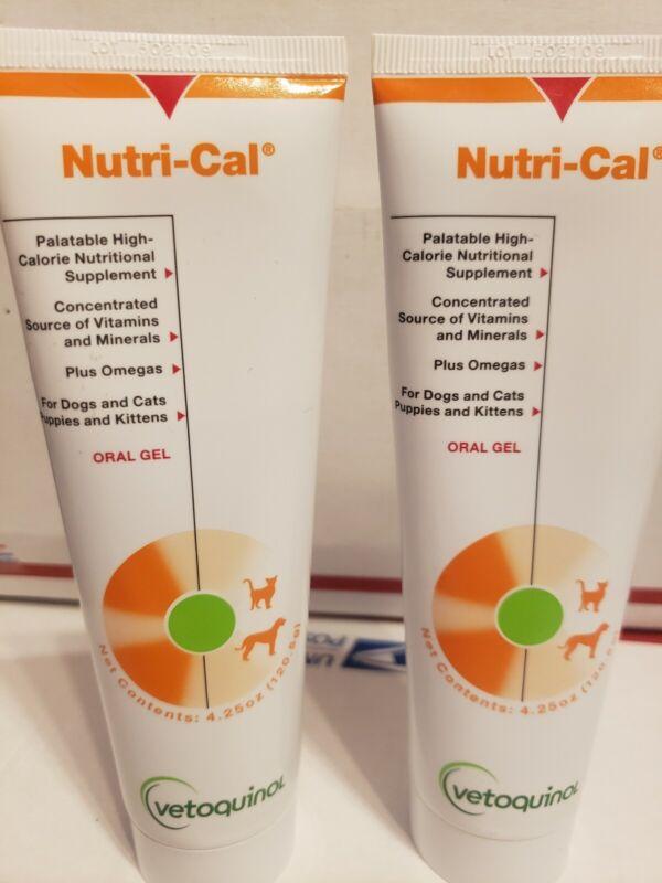 Nutrical, 4.25 oz. Tube lot of two bottles exp.2-2021